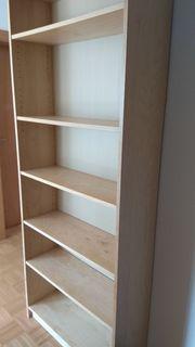 IKEA Billy Bücherregale Birke Echtholzfurnier