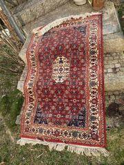 Hangeknüpfter Orientteppich aus Jaipur 160x93cm