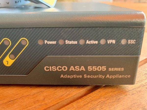 CISCO ASA 5505 Router / Firewall, komplett mit Zubehör