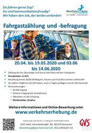 Nebenjob Minijob Fahrgastbefragung in Zügen