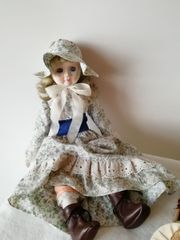 Retro Vintage Porzellanpuppe Dekoration BUDAH