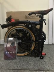 Brompton Spezial - Faltrad - verpackt