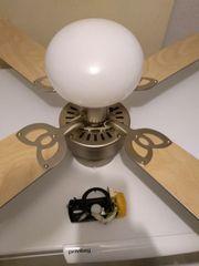 Deckenventilator mit Lampe