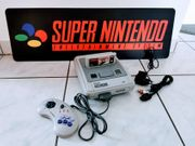 Super Nintendo SNES Konsole Komplett