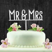 Tortentopper Hochzeit Mr Mrs