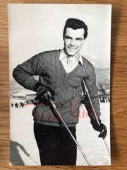 Toni Sailer Film TV Autogrammkarte -