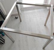 Tischgestell aus Edelstahl zur Selbstmontage
