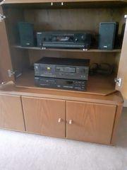 Stereoanlage Sony Technics Canton Boxen