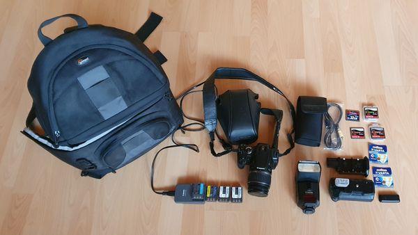 Canon EOS 400D Canon Speedlite