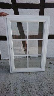 Sprossenfenster Eiche Weiß Neu
