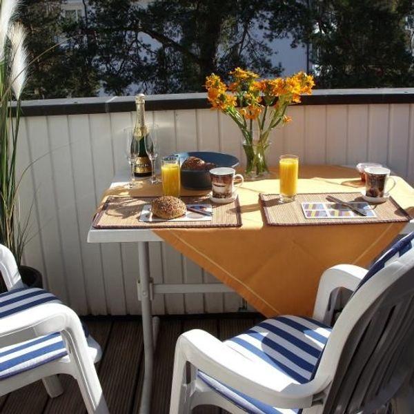 Strandnahe ruhige Ferienwohnung in BINZ