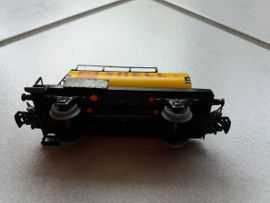 Modelleisenbahnen - Märklin Modelleisenbahn Kesselwagen Shell 4502
