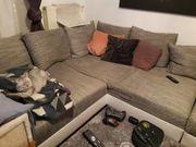 Sofa und Hocker
