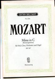 Mozart Missa in C Krönungsmesse