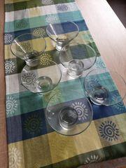 Dessert Schalen Gläser 6 Stk