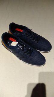 Bugatti Sneaker blau Größe 44