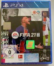 Playstation 4 Spiel Fifa 21