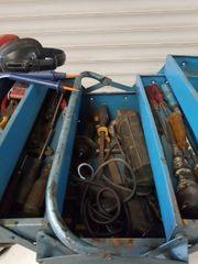 Werkzeugkasten Steyer Winkelschleifer