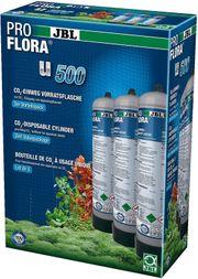 3 JBL ProFlora u500 Vorratsflaschen