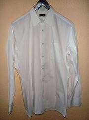 weißes Herrenhemd Gr M