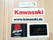 Kawasaki Ninja Motorrad Sticker - inklusive