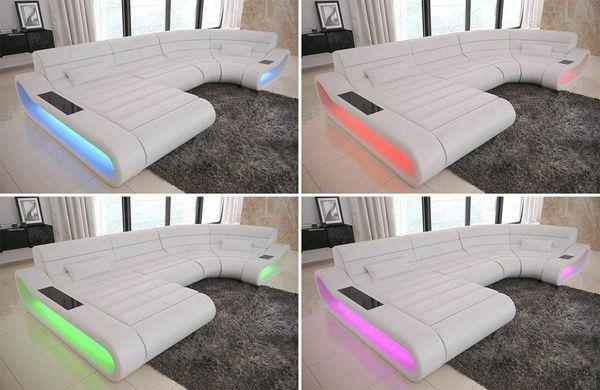 Mega Sofa Big Couch Stoffsofa