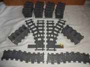 Lego RC Zug train Schienen