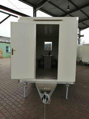 Bauwagen Anhänger Bürocontainer Büro 4x2