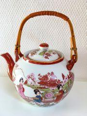 Chinesisches Teeservice für 6 Personen