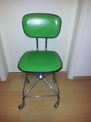 Vintage Bürostuhl 70er Jahre grün