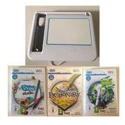 Wii uDraw Gametablet 3 Spiele