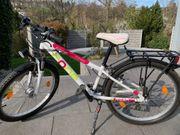 Mädchen-Fahrrad CONE 24 Zoll weiß