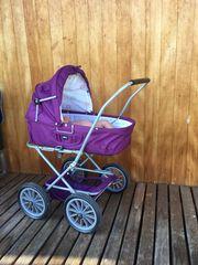 Puppenwagen Wiege Buggy Bett Baby