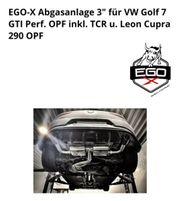 EgoX Abgasanlage für Golf 7
