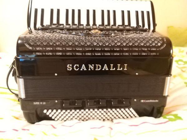 Scandalli super 6 lx