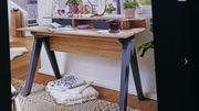 Schreibtisch 120cm Design Bürotisch Sonoma