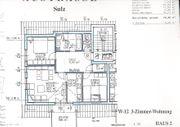 helle ruhig gelegene 3-Zimmer-Wohnung mit