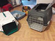 2 Tiertransportboxen für Katzen oder