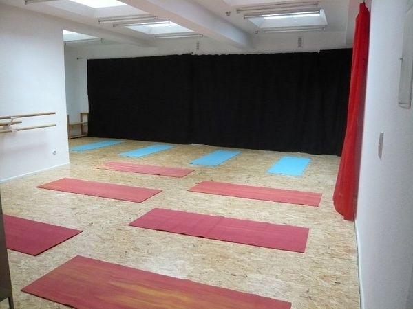 Kursraum Unterrichtsraum für Yoga Pilates