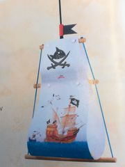 fröhliche Kinderleuchte Kapitän Sharky neu