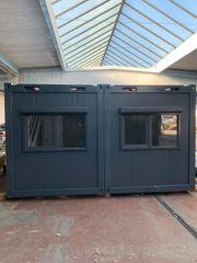 Kiosk Imbiss Büro Containeranlage NEU
