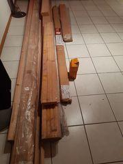Holzdecke zum Schnäppchenpreis abzugeben