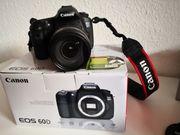 Canon EOS 60D digitale Spiegelreflexkamera
