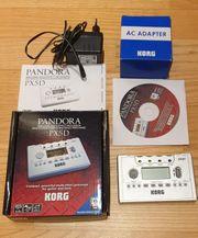 Korg PX5D Pandora Gitarre und