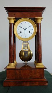 Präzisions Tischregulator Paris um 1820