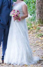hochwertiges Brautkleid für eine schöne