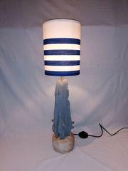 Treibholzlampe kleine Stehlampe Maritim