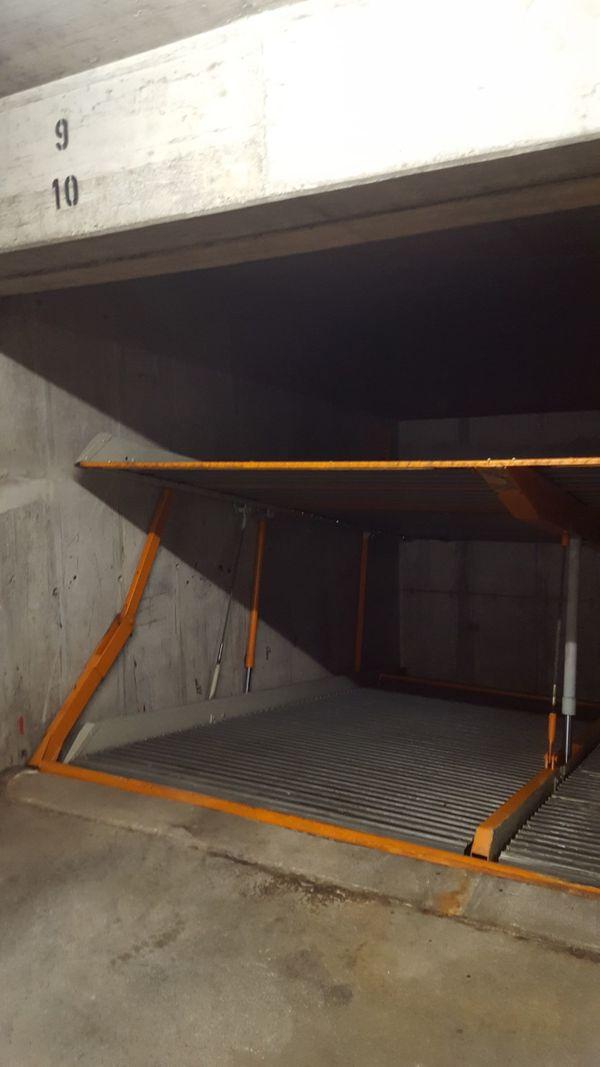 Garage Zufahrt Emanuelstr Schwabing zu