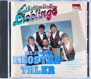 unsere volkstümlichenLieblinge-die jungen Klostertaler CD
