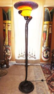 ORIGINAL BRONZE BODEN STAND LAMPE